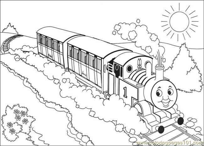 Thomas And Friends 26 Coloring Page