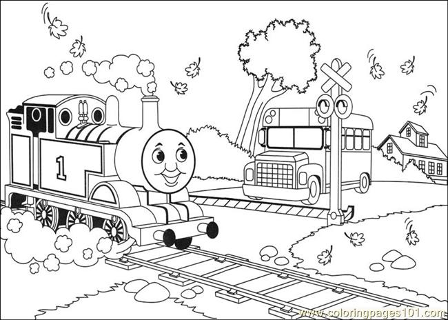 Thomas And Friends 30 Coloring