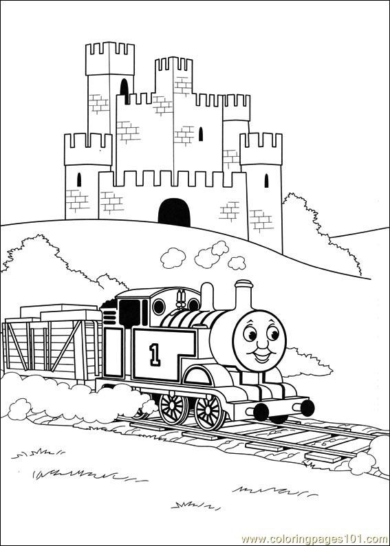 Thomas And Friends 42 Coloring Page