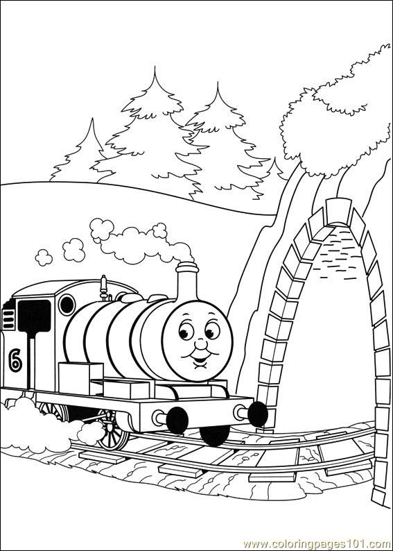 Thomas And Friends 43 Coloring Page