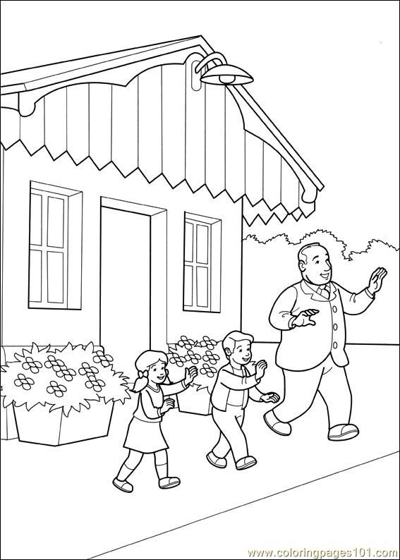 Thomas And Friends 46 Coloring Page