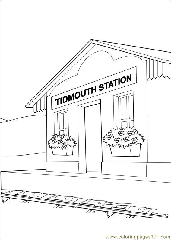 Thomas And Friends 49 Coloring Page