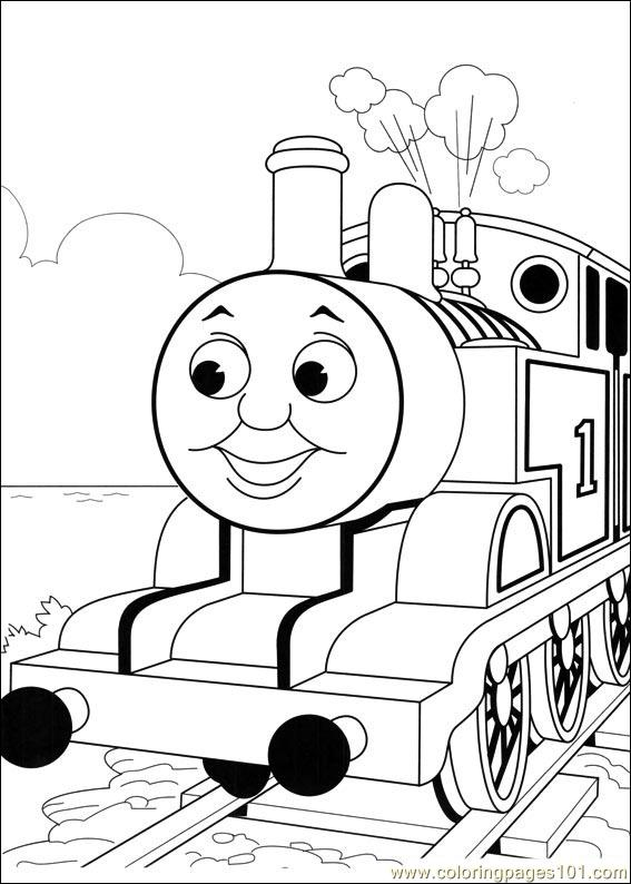 thomas and friends 52 coloring page
