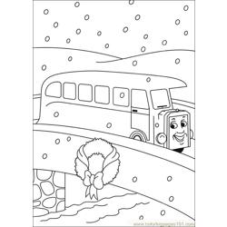Thomas And Friends 38 coloring page