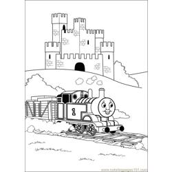 Thomas And Friends 42 Free Coloring Page for Kids