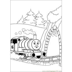 Thomas And Friends 43 Free Coloring Page for Kids