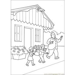 Thomas And Friends 46 Free Coloring Page for Kids