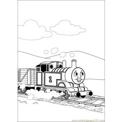 Thomas And Friends 48 Free Coloring Page for Kids