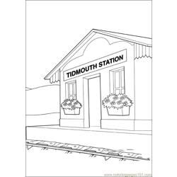 Thomas And Friends 49 Free Coloring Page for Kids
