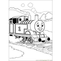 Thomas And Friends 50 Free Coloring Page for Kids