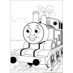 Thomas And Friends 52 Free Coloring Page for Kids