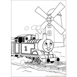 Thomas And Friends 53 Free Coloring Page for Kids