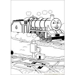 Thomas And Friends 54 Free Coloring Page for Kids
