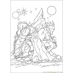 Thor 14 coloring page