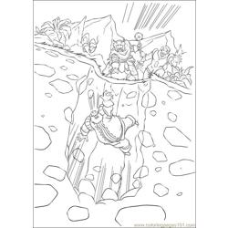 Thor 16 coloring page