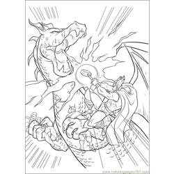 Thor 18 coloring page