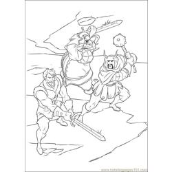 Thor 19 coloring page