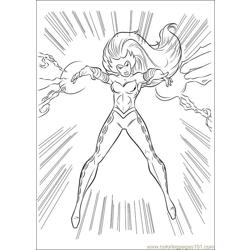 Thor 24 coloring page