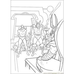 Thor 32 coloring page