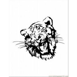 62 Tiger Coloring Pages 9 Med