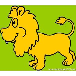 Lion Tiger Coloring Page 10