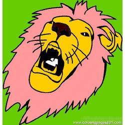 Lion Tiger Coloring Page 27
