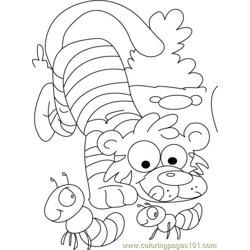 Tiger Coloring Page11