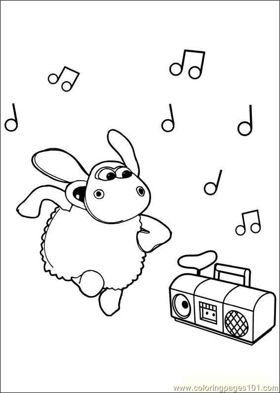 Timmy Time 19 Coloring Page