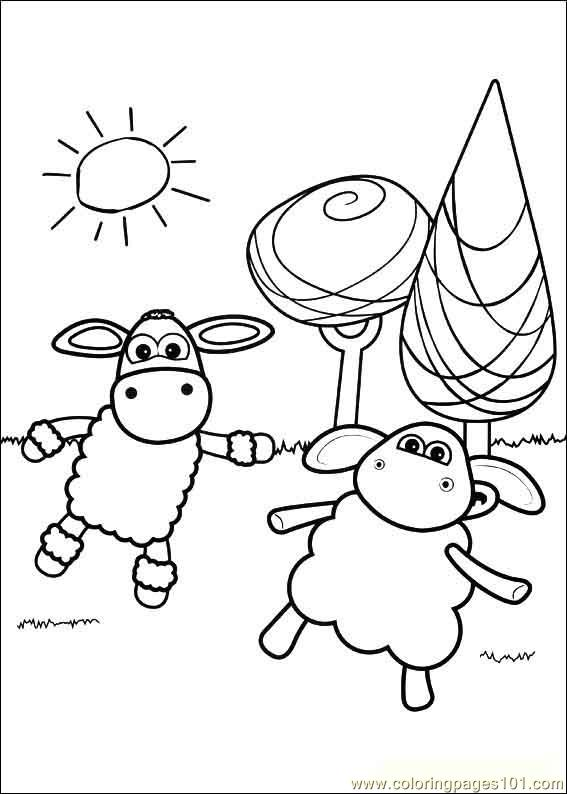 Timmy Time 20 Coloring Page Free Timmy Time Coloring
