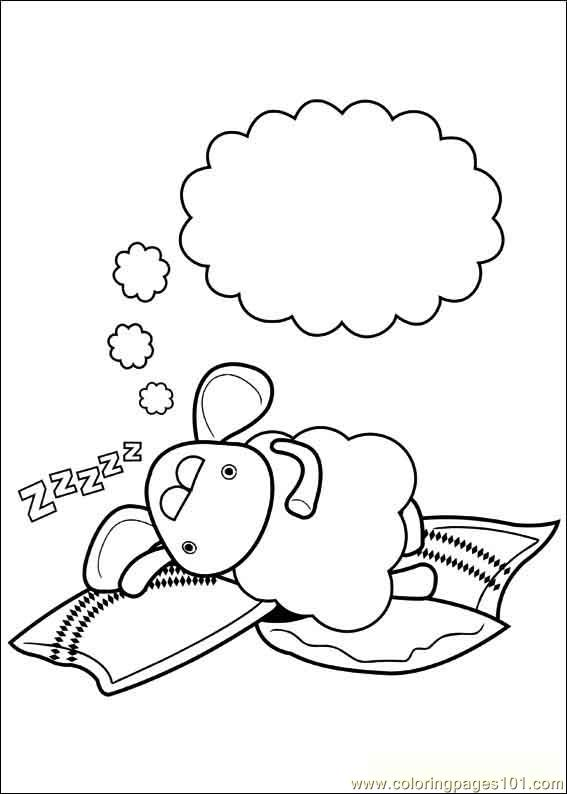 Timmy Time 22 Coloring Page