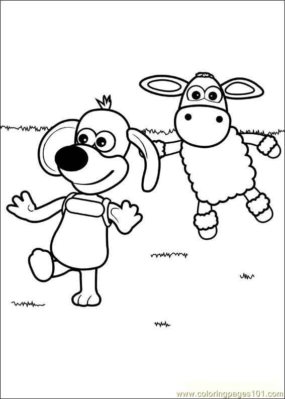 Timmy Time 23 Coloring Page