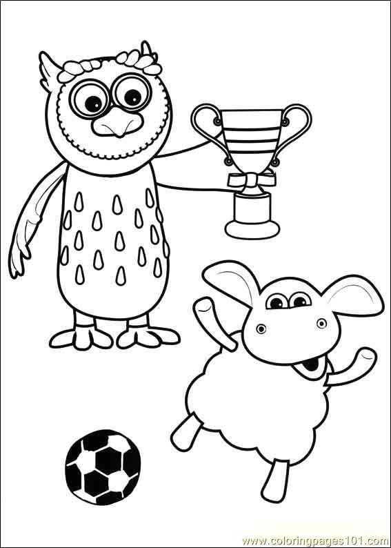Timmy Time 36 Coloring Page