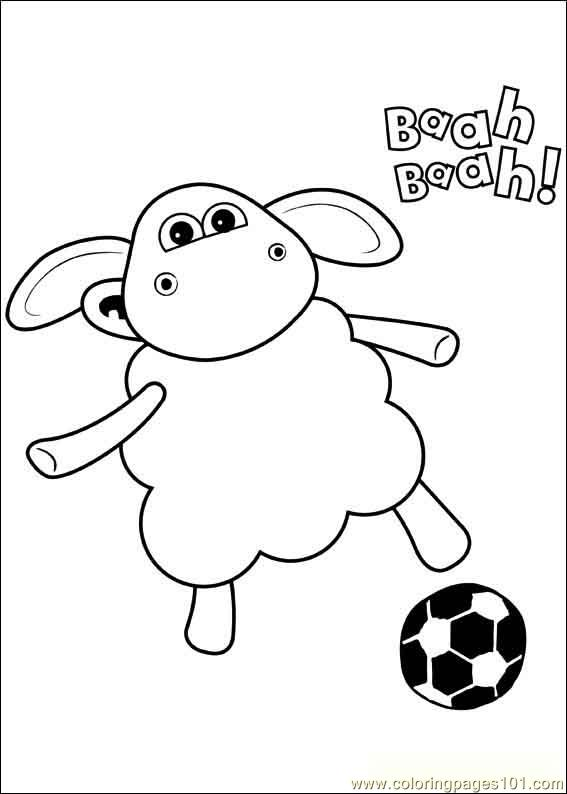 Timmy Time 38 Coloring Page