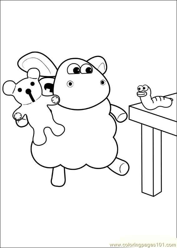 Timmy Time 41 Coloring Page Free Timmy Time Coloring
