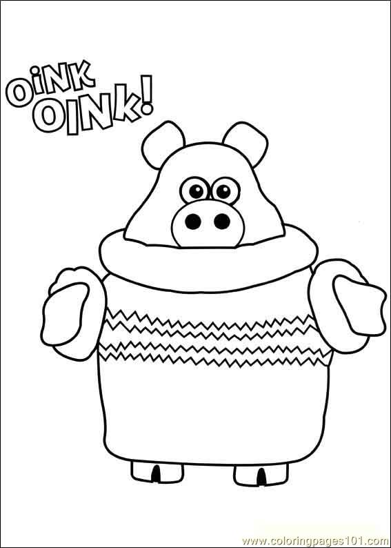 Timmy Time 42 Coloring Page