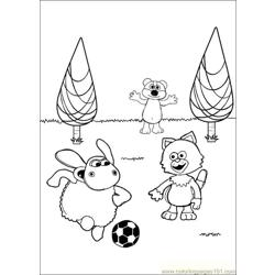 Timmy Time 28 coloring page