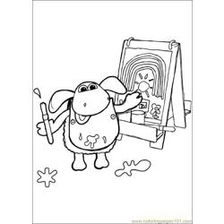 Timmy Time 30 coloring page