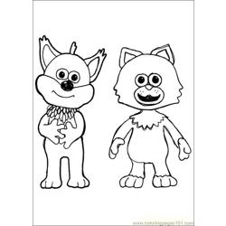 Timmy Time 35 coloring page