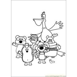Timmy Time 37 coloring page