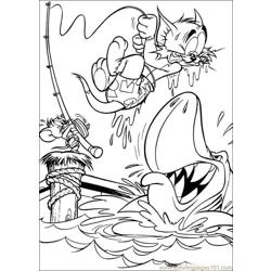 Tom Jerry 48 coloring page