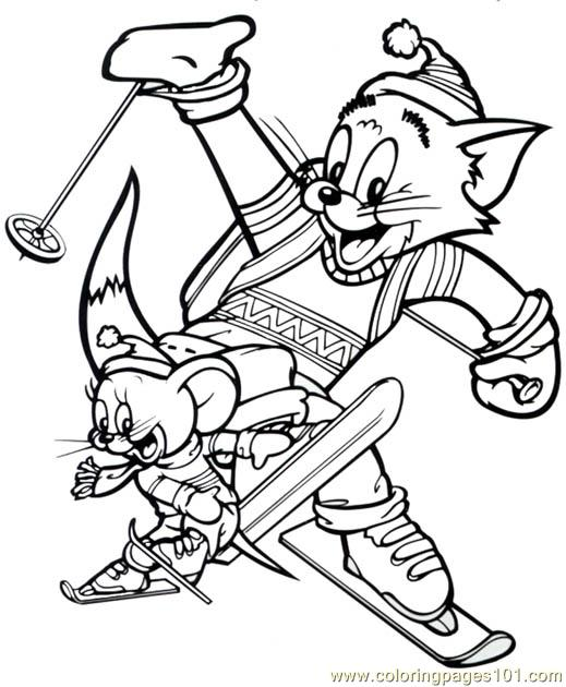 Tom 03 Coloring Page