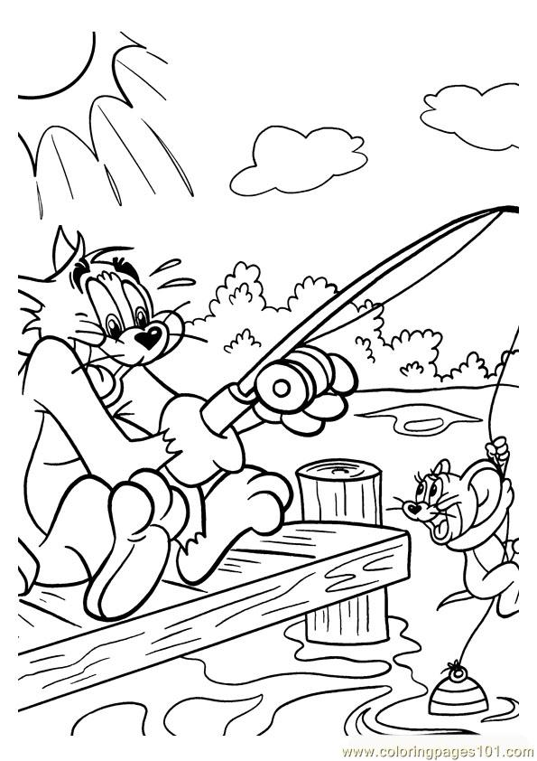 Tom And Jerry 017 Coloring Page