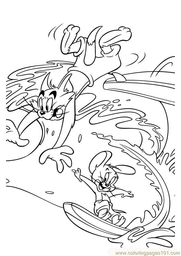 Tom And Jerry 025 Coloring Page