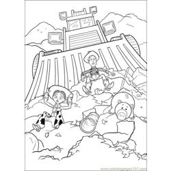 Toy Story 3 21 coloring page