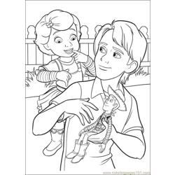 Toy Story 3 24 coloring page
