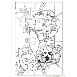 Toy Story 3 25 coloring page
