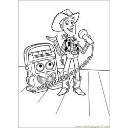 Toy Story 3 26 Free Coloring Page for Kids