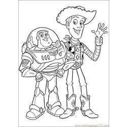 Toy Story 3 27 Free Coloring Page for Kids