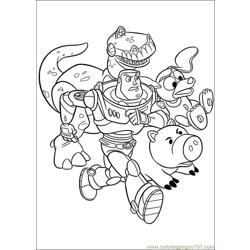Toy Story 3 28 coloring page