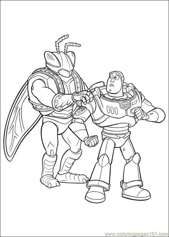 Toy Story 3 12 Coloring Page